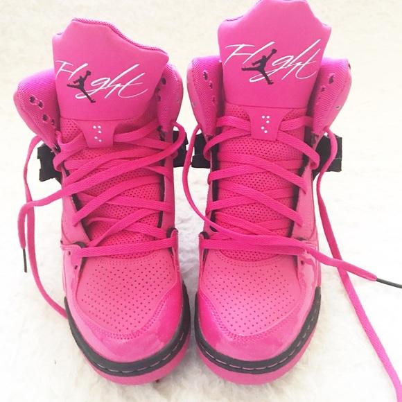 Hot Pink Jordan Flights | Poshmark